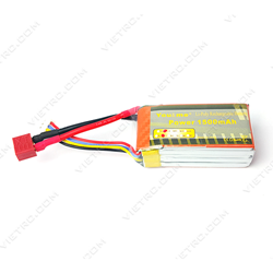 Picture of YouMe 3S 11.1V 1500mAh 25C T Plug