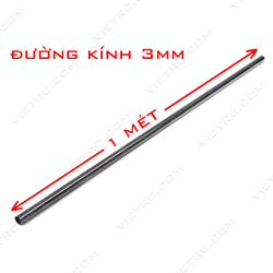 Picture of Ống carbon 3*1.5mm