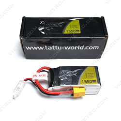 Picture of Tattu 3S 11.1V 1550mAh 45C XT60 Plug