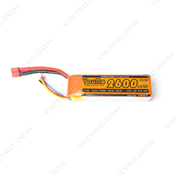 Picture of YouMe 3S 11.1V 2600mAh 40C T Plug