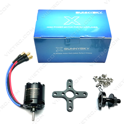 Picture of Sunnysky X2216-1250Kv Brushless Motor (Trục dài)