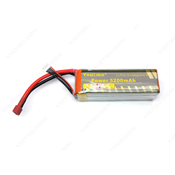 Picture of YouMe 4S 14.8V 5200mAh 35C T Plug