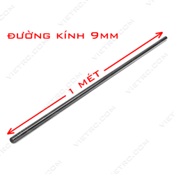 Picture of Ống carbon 9*7mm