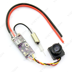 Picture of Kingkong Q25 V2 VTX+Camera 25mw 16ch Transmitter 800VTL