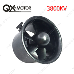 Picture of 70mm Ducted fan 6 Blades EDF QF2827 3800KV