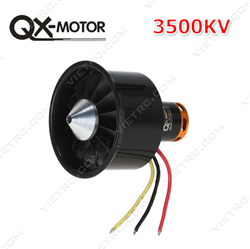 Picture of 64mm Ducted fan 12 Blades EDF QF2822 3500KV