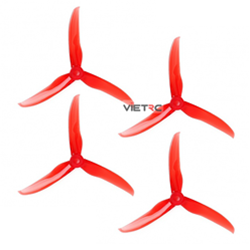 Picture of 3-Blade T-Motor Propeller T5143 Clear Red Set (2 thuận + 2 nghịch)