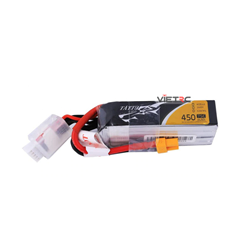 Picture of Tattu 4S 14.8V 450mAh 75C XT30 Plug