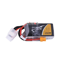Picture of Tattu 4S 14.8V 650mAh 75C XT30 Plug