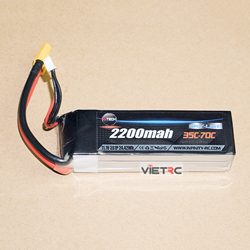 Picture of AHTECH Skyline 3S 11.1V 2200mAh 35-70C XT60 Plug