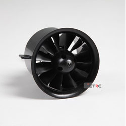 Picture of FMS ducted fan 70mm 12 Blades 2860-KV1850 (V1) for 6S