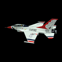 Picture of Kit EPO F-16D Thunderbird 765mm
