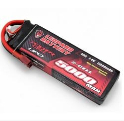 Picture of Leopard 2S 7.4V 5000mAh 40C T Plug