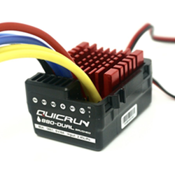 Picture of 80A Hobbywing Quicrun 880 Dual-Brushed ESC