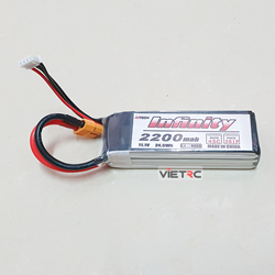 Picture of Pin Ahtech Infinity 3S 11.1V 2200mAh 45C XT60 Plug