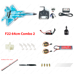 Picture of Combo 2 - Kit xốp dẻo F22 + Devo 7 + RX701