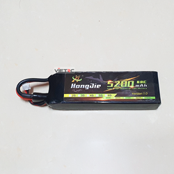 Picture of Pin Hongjie 2S 7.4V 5200mAh 60C XT60 Plug