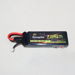 Picture of Pin Hongjie 2S 7.4V 2200mAh 60C XT60 Plug