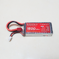 Picture of Pin Shang Yi 2S 7.4V 1500mAh 45C T Plug