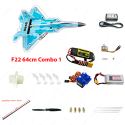 Picture of Combo 1 - Kit xốp dẻo F22 (không Tx Rx)