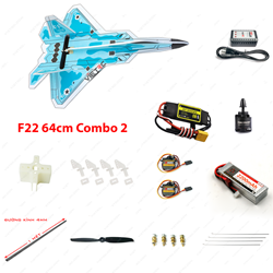 Picture of Combo 2 - Kit xốp dẻo F22 (không Tx Rx)
