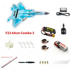 Picture of Combo 3 - Kit xốp dẻo F22 (không Tx Rx)